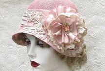 ~ Vintage Cloche Hats ~