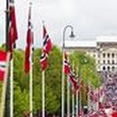 Celebrating 17. Mai / The Norwegian national day