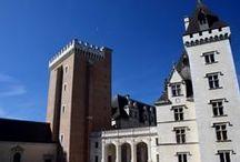 CHATEAU-CASTLE-CASTILLO / Châteaux, manoirs et demeures de maître dans le Béarn et le Pays Basque