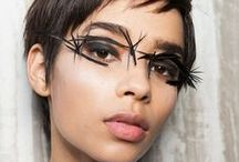 Runway & Editorial Beauty / The most outlandish and inspiring beauty looks from the runway.