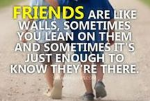 Friendship / What it actually is meant to be