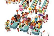 FLE: Supermarche