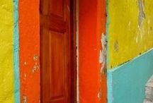 Colours on the walls
