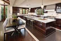 Kitchens / The kitchen is quickly surpassing the living room as the modern home's center point. All the more reason for these opulent spaces.