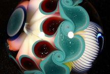 #Glass: Paperweights and Marbles