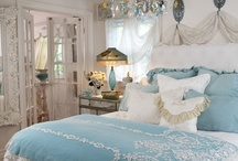 Bedrooms / by Becky Rumbaugh Cigoy