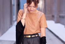 Rockin' Leather Skirts / by Chictopia