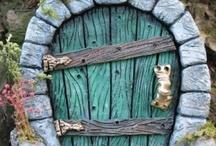Fairy Houses, Door's and Wee Folk