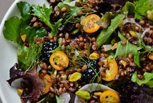 Salads with Freekeh