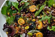 Salads with Freekeh