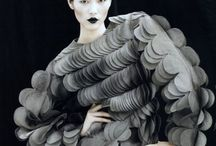 Extreme fashion / It's art. Just let it wash over you.