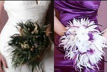 Feather Bouquets