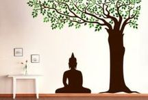 Ethanic Indian Wall Designs / Kakshyaachitra - Manufacturers and dealers of wall decals in India