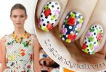 The Trendy Nail | Nail Art / Simple ways to dress your naked nails.  My nail designs inspired by fashion & daily life.