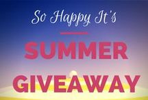 Giveaways - Enter Now! / Enter these great giveaways!