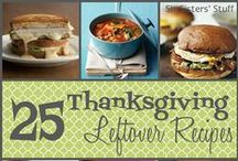Thanksgiving Crafts & Treats