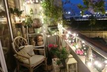 Balcony / Inspiration for decorating my balcony <3