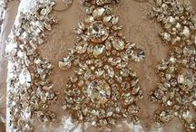 Awe Inspiring Embroidery and Embellishment / Magnificent embroidery and embellishment that will inspire you