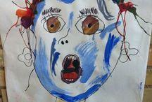 Gyvelhøjskolen billedkunst / Vi ønsker at inspirere hinanden i arbejdet med kunst og børn