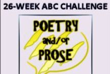 ABC Challenge / This is a writing challenge of 26 weeks to identify emotions from A to Z. Join us here: http://ruthcoxpoetryprose.blogspot.com/p/abc-challenge.html