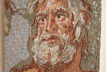 My mosaics(mozaik çalışmalarım) / by Aylin Öğütçü