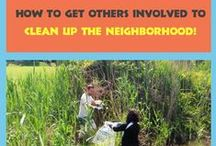 Community Service / Ideas to help keep you community healthy and happy!