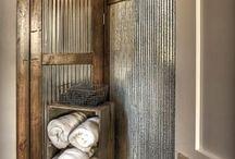 Rustic and bathroom Ideas / Bathroom ideas