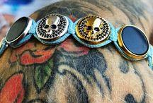 Oskar Torno Jewellry / Jewellry designed by Oskar Torno inspired by Tattoos, Architecture and Arts