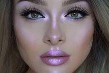 Inspiração de maquiagem / Maquiagem colorida, neutral, simples, sofisticada e para todos os gostos.