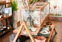traditional country shop ideas / decoration, architecture