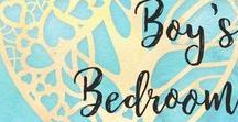 Boy's Bedroom decor / DIY Decorating Ideas for Boys Bedrooms, Boy Bedroom Inspiration and themes