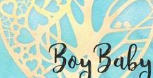 Boy baby shower / It's a boy! Baby Shower ideas for boys, Menu Ideas, Games, Diaper Cakes for Boys, and more Baby Shower Inspiration!