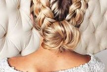 // Beautiful Locks + Hair Tutorial / Ideas and inspiration for hairstyles and cuts.