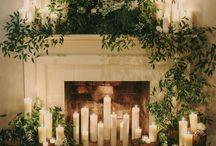 FLOWERS | Fireplace