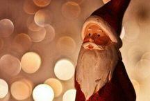 Santa Claus & Rudolph