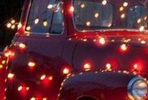 Christmas Tree Trucks & Trains