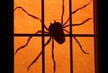 Halloween Spiders & Bats