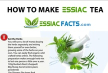 Essiac Tea / Essiac tea is an herbal decoction that has been used to treat cancer and many other diseases for over 100 years. Visit www.essiacfacts.com for more information on essiac tea and other alternative medicines.