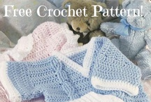Free Crochet Baby Gift Patterns / Download your free crochet baby gift patterns to create adorable toys, apparel and accessories.   / by Craft Downloads
