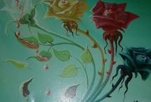 TONINO DAL RE (Imola 1924, 2010) / Cresciuto alla scuola di T. Della Volpe, esordisce con grande successo negli anni '60 facendo schizzi dei corridori al Giro d'Italia. Affresca più di 50 chiese, teatri, palazzi e ville signorili, per poi passare negli anni '70 ad una pittura legata al surrealismo fantastico.