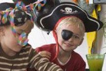 Sørøverfest / Splitte mine bramsejl! Hvad siger du til at holde alle tiders sørøverfest! Find opskrifter, inspiration og aktiviteter