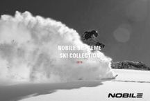 NOBILE SKIS / There are no other skis like Nobile. Thanks to Tech Triangle system, which actively activates three Nobile-patented solutions: APS, Autorocker and Trapezium Shape, it's hard to find better riding skis around the world.