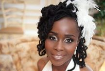 Wedding Dreads / Live Locs Beautiful dreadlock styles for your special day. #dreadlocks #weddings #locs #hair