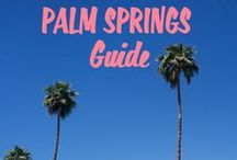 Hello from Palm Springs! / Things to do and travel tips for visitors to sunny Palm Springs, CA, and the surrounding Coachella Valley.