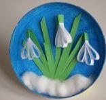 Wiosna i Wielkanoc / Prace plastyczne dla dzieci wiosna i Wielkanoc. Art work, craft for children spring and Easter.