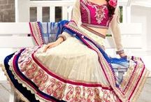 half sarees/chudidars