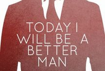 Be a gentleman and stay classy