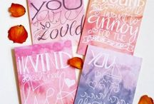 Greeting Cards / Greeting cards made by Patchoeli