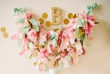 Party Time / Tips and decorating ideas and inspiration for parties