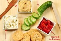BBQ and Picnic Snacks / Warm weather means eating al fresco! Taking a hike? You should bring a quick snack. Having a backyard barbecue party? You want some crowd-pleasing appetizers. Going on a picnic? You need easy and simple snack ideas. This board has a recipe for all your summer snacking needs!
